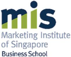 MIS - Marketing Institute of Singapore – Business School